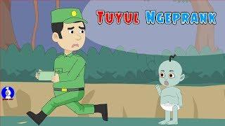 Tuyul Ngeprank Hey Tayo ☠Tuyul Dikerjain☠Funny Cartoon☠Horor Lucu Episode 45