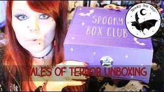 TALES OF TERROR - Spooky Box Club April Unboxing