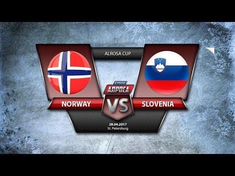 Alrosa Cup. Norway - Slovenia
