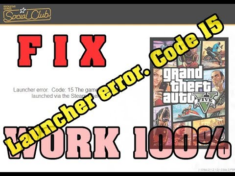 FIX | Launcher error. Code: 15 The game was not launched via the Steam Client (Work 100%)