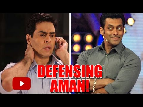 When Salman Khan SLAMMED A Channel In Defense of Aman Verma!
