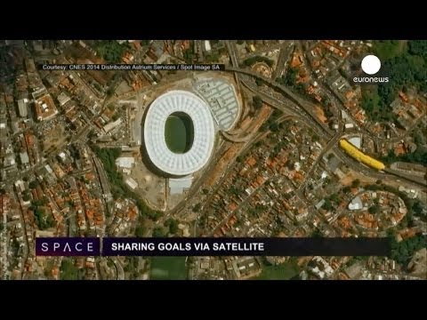 ESA Euronews: Gol via satellite