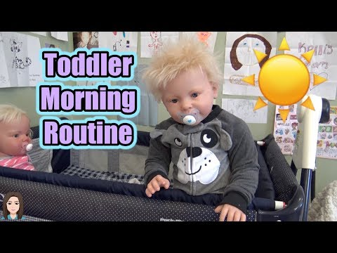 Reborn Toddler Twins Morning Routine | Kelli Maple