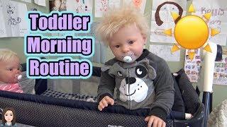 Reborn Toddler Twins Morning Routine   Kelli Maple