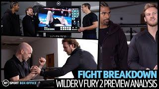 Full Wilder v Fury 2 Fight Breakdown with Ben Davison and David Haye