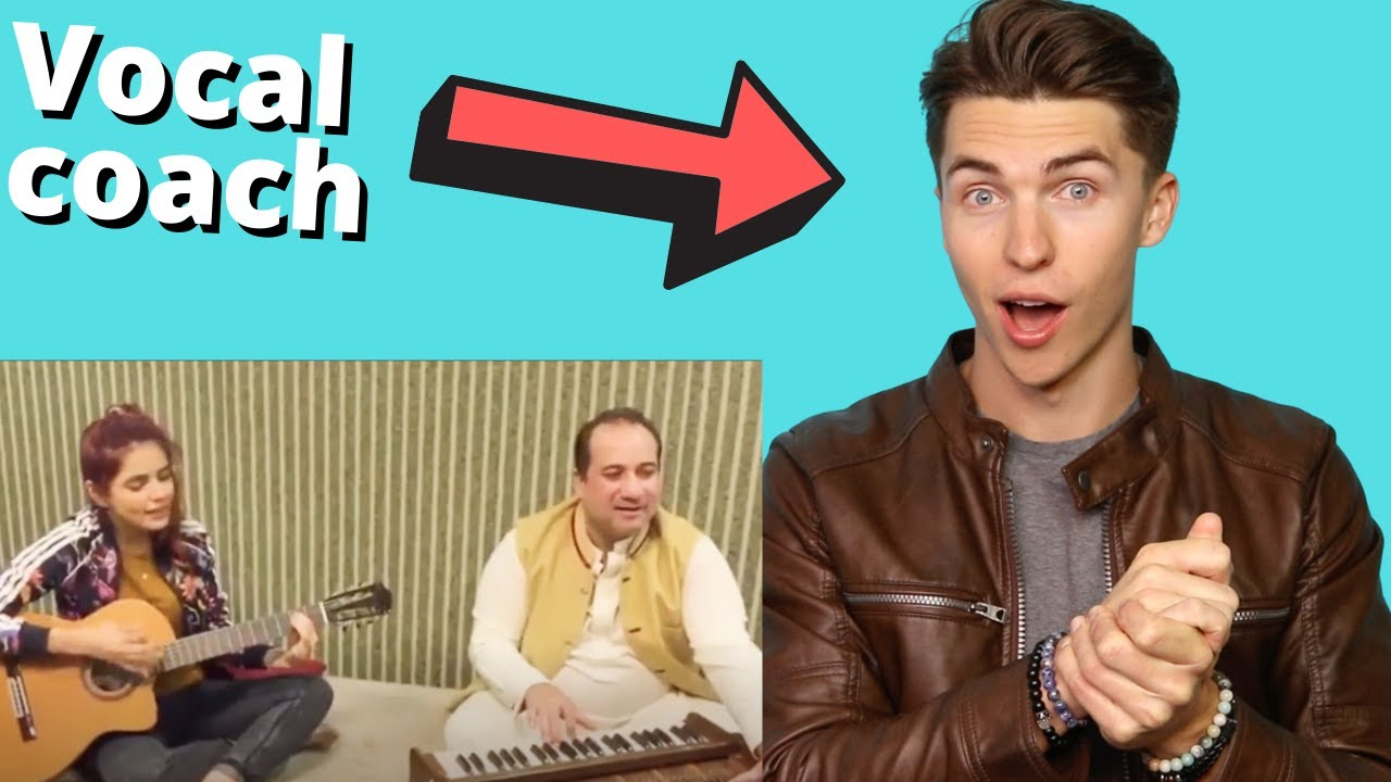 VOCAL COACH Reacts to Afreen Afreen Acoustic- Momina Mustehsan and Rahat Fateh Ali Khan