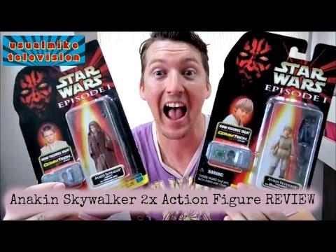 Anakin Skywalker action figures REVIEW TPM