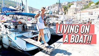 I LIVED ON A BOAT FOR A WEEK!!