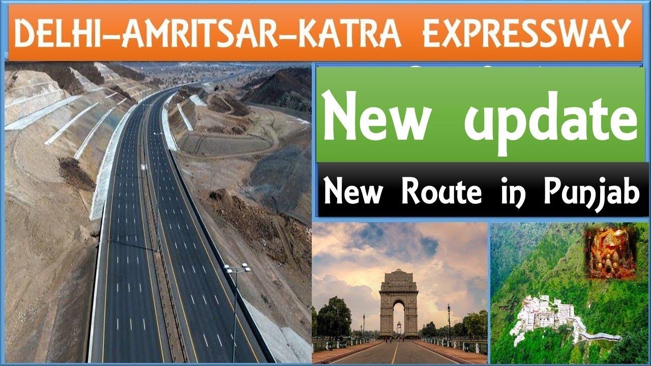 Delhi-Amritsar-Katra Expressway New Update | Delhi-Katra Expressway complete info |Papa Construction