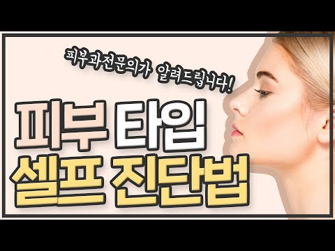 1편 바우만 피부 타입이란 (과학적인 피부타�