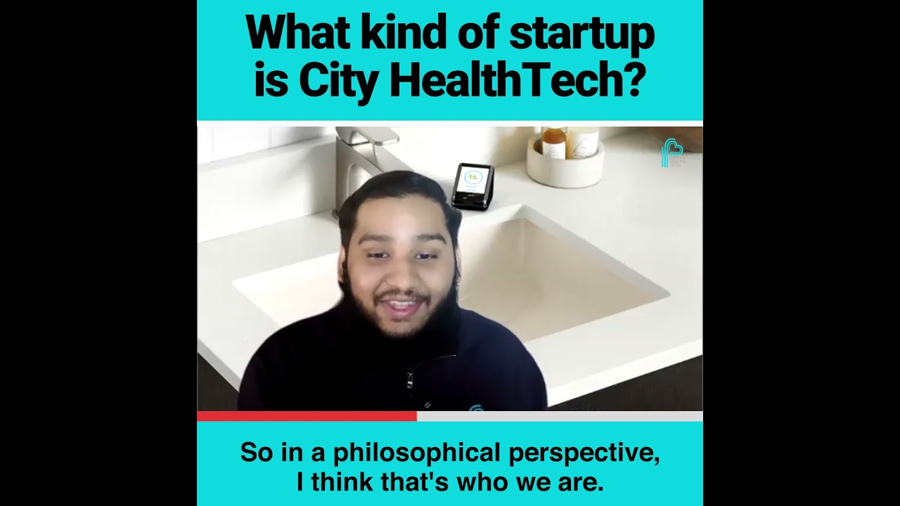 What kind of startup is City Health Tech?