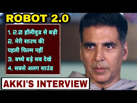 """Akshay Kumar Exclusive Interview Report About Robot"""" 2.0"""", Robot""""2.0"""" Going To Be the Biggest Movie"""