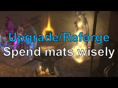 Upgrade Rare Reforge How To Use Your Crafting Materials Wisely Diablo 3 Youtube