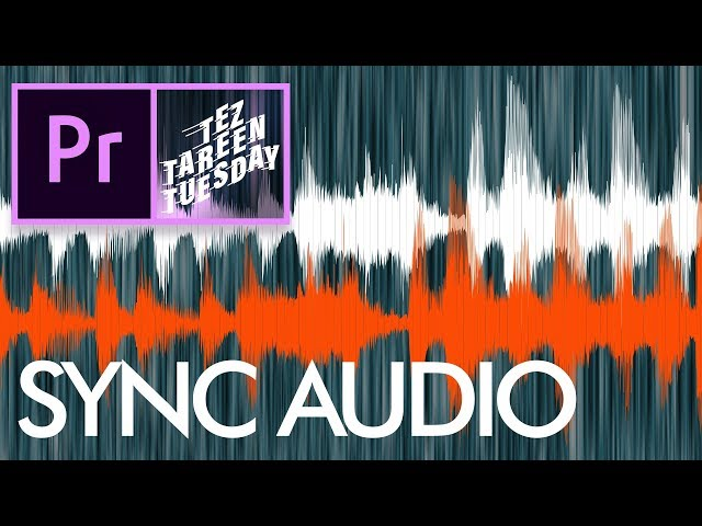 Synchronize Audio in Premiere Pro CC Urdu / Hindi