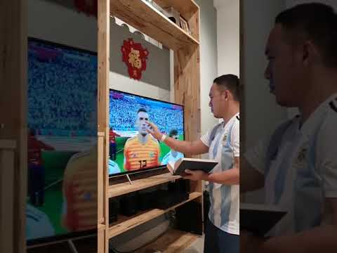 Argentina players received blessing before Nigeria match Russia 2018