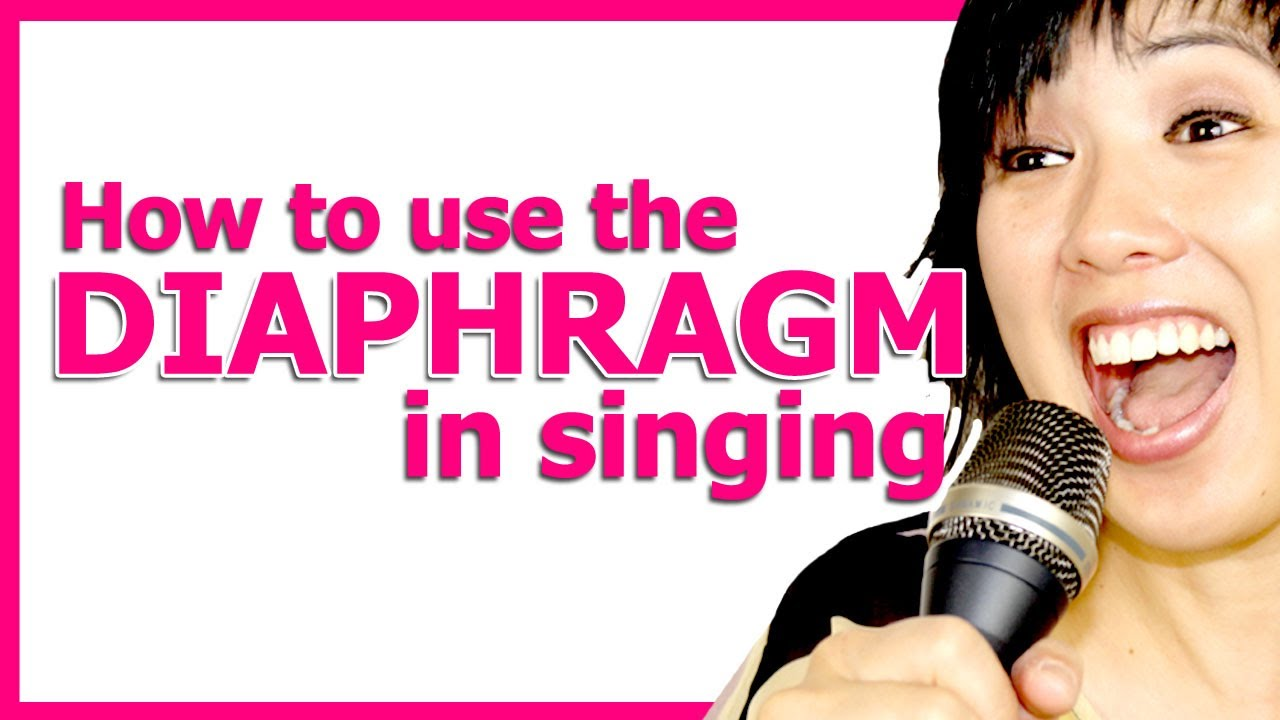 How to Sing from your Diaphragm - Singing Tips - YouTube