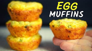 COTTAGE CHEESE AND EGG MUFFINS: An easy way to add protein to your breakfast