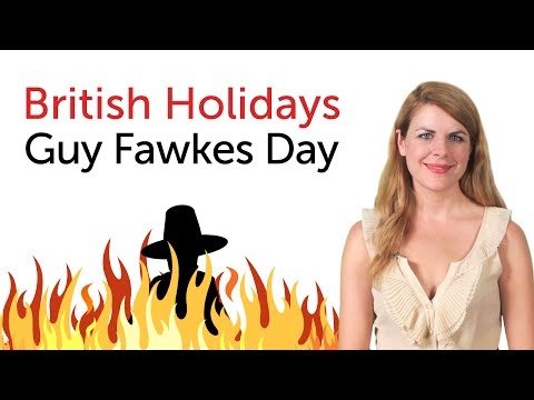 British Holidays - Guy Fawkes Day