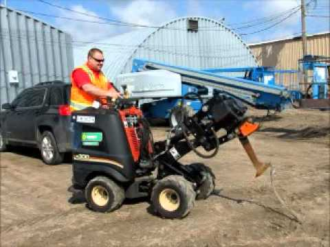 For Sale 2008 Ditch Witch R300 Vibratory Cable Plow Self Propelled  bidadoo com