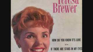 Teresa Brewer - If There Are Stars In My Eyes (1960)