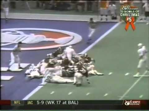 1979 Sugar Bowl - The Goal Line Stand