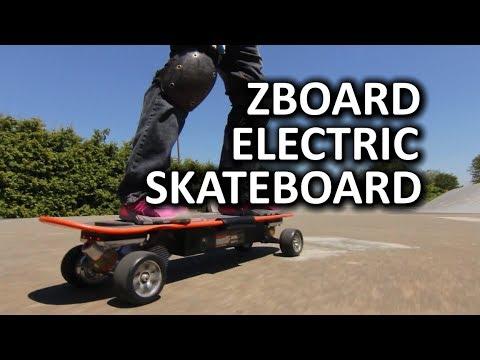 ZBoard Electric Skateboard San Francisco Special  YouTube