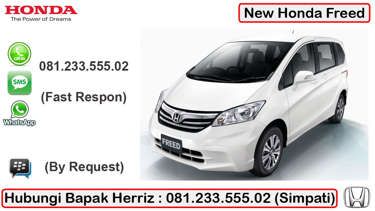 diskon mobil honda freed harga honda freed harga mobil honda freed 081 233 555 02 youtube. Black Bedroom Furniture Sets. Home Design Ideas