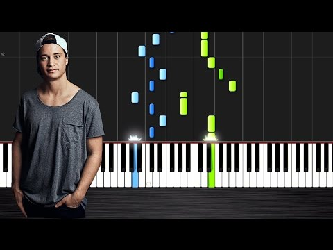 Kygo - Firestone - Piano Cover/Tutorial by PlutaX - Synthesia