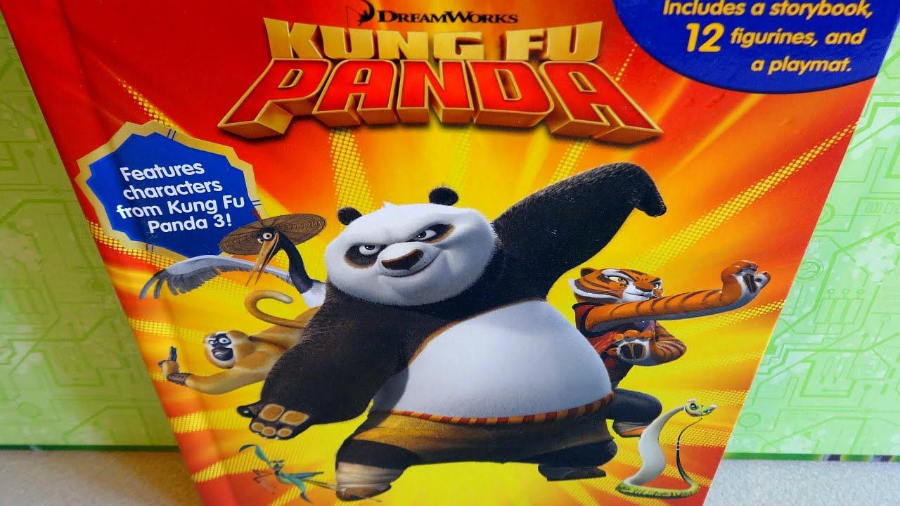 2016 Kung Fu Panda 3 DreamWorks Movie Phidal 12 Figures ...