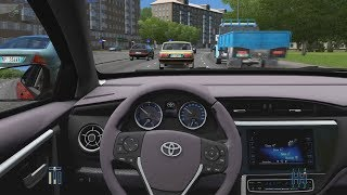 City Car Driving - Toyota Corolla 2017   City Drive