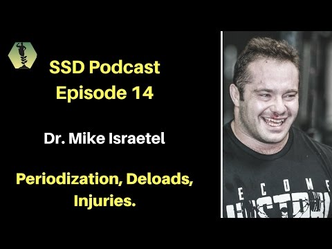 SSD Podcast Ep. 14: Dr. Mike Israetel: Periodization, Deloads, Injuries..