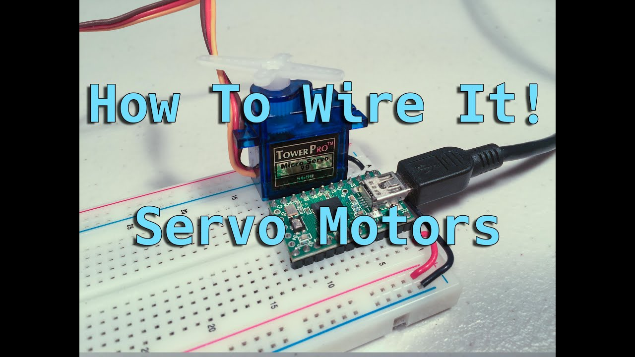 How To Wire It! Servo Motors - YouTube