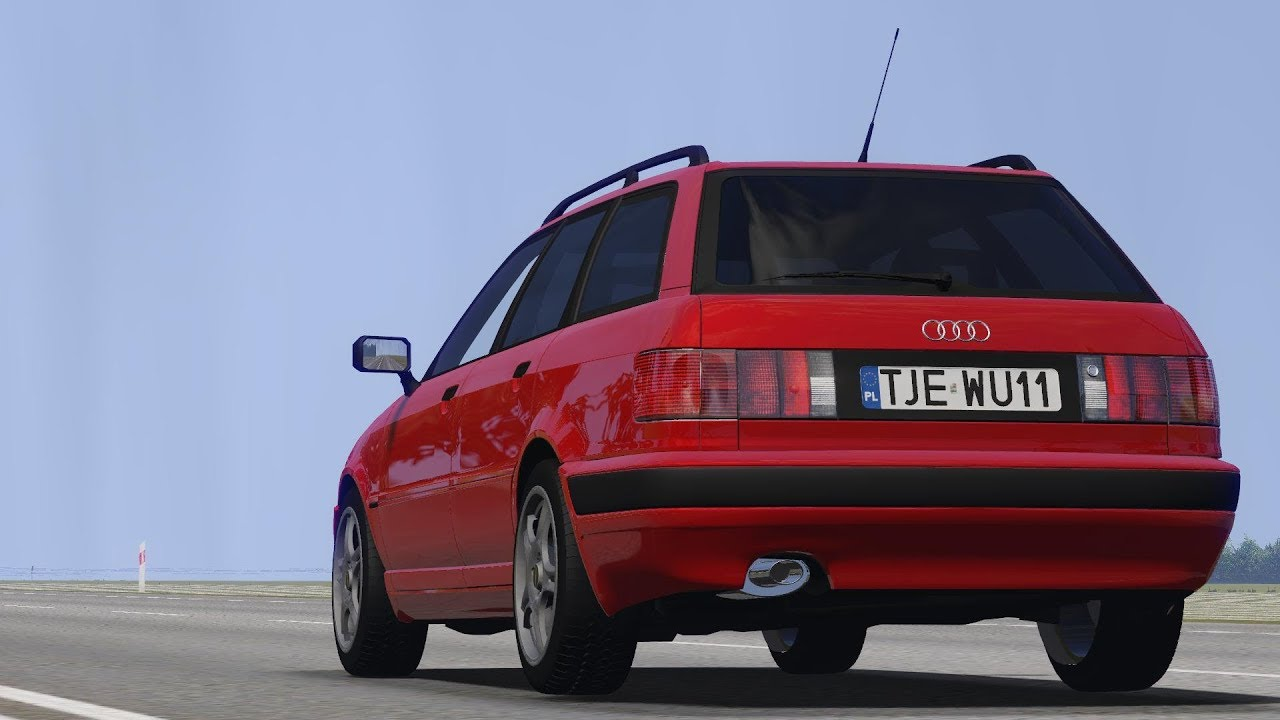 Audi 80 B4 20 Abt Avant Drive Links Racer Free Game Youtube
