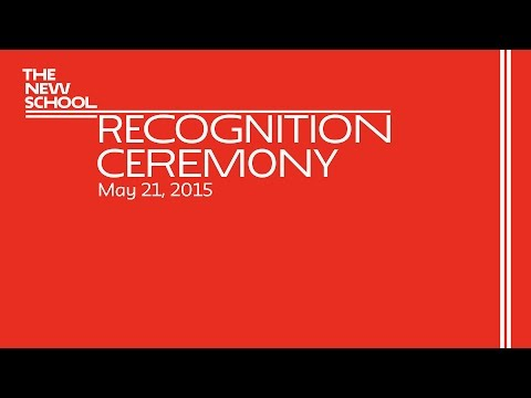 School of Writing, School of Media Studies, and TESOL Program 2015 Recognition | The New School