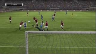 Pro Evolution Soccer 2012 PS3 HD Gameplay AC Milan - FC Porto