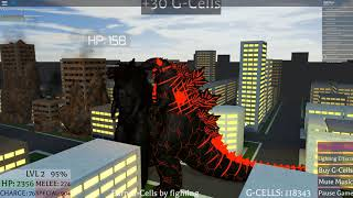 Roblox Kaiju En ligne feu Godzilla gameplay