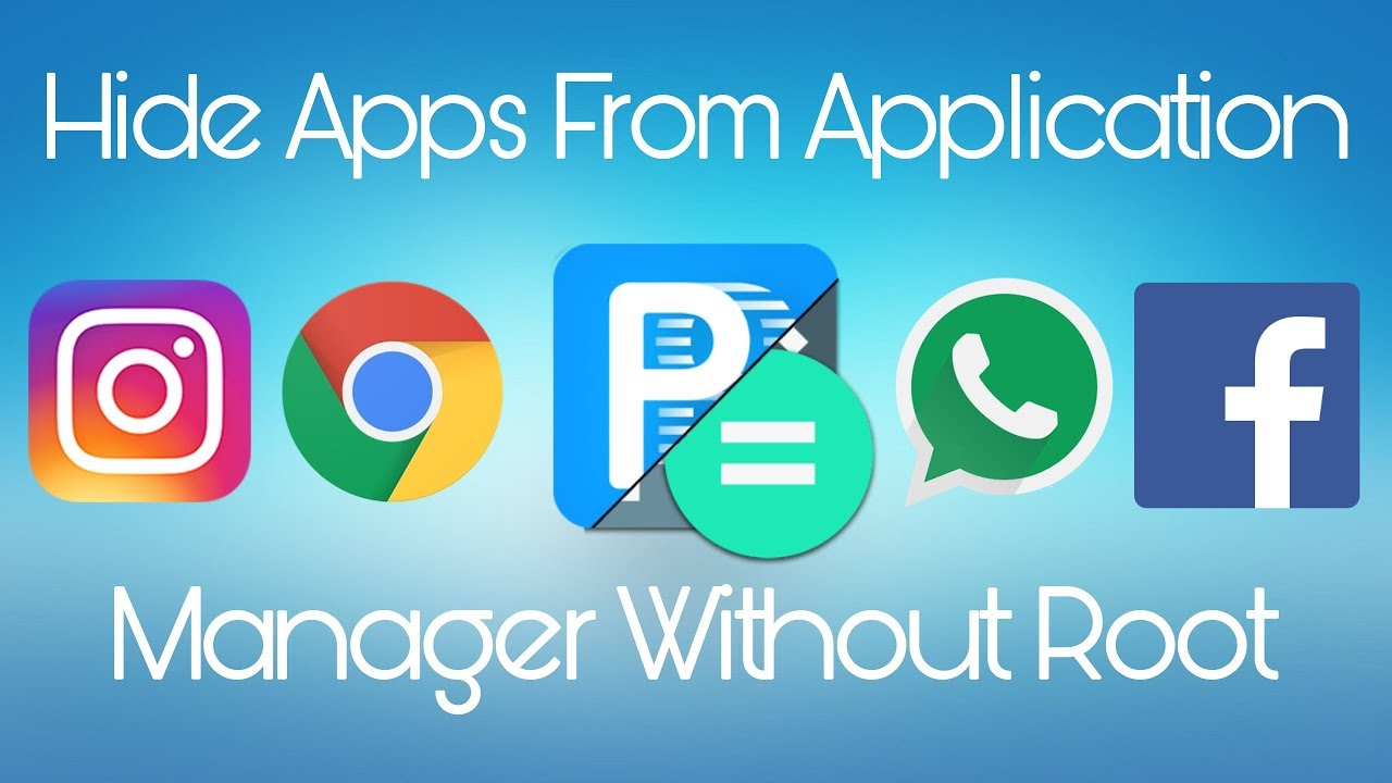root application manager