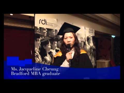 Bradford MBA graduate - Jacqueline Cheung