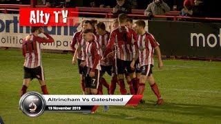 Altrincham Vs Gateshead 19/11/2019