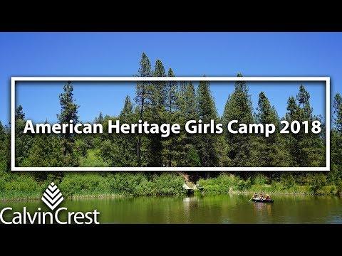 American Heritage Girls Camp 2018