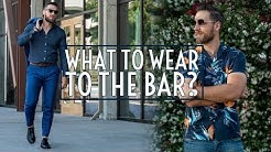6 Outfits to Wear For a Night Out || Bar Lookbook 2019 || Men's Fashion