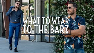 6 Outfits to Wear For a Night Out    Bar Lookbook 2019    Men's Fashion