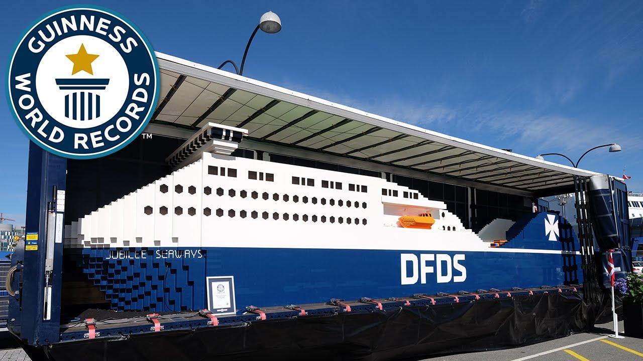 Largest LEGO Ship Guinness World Records YouTube - Biggest lego ship