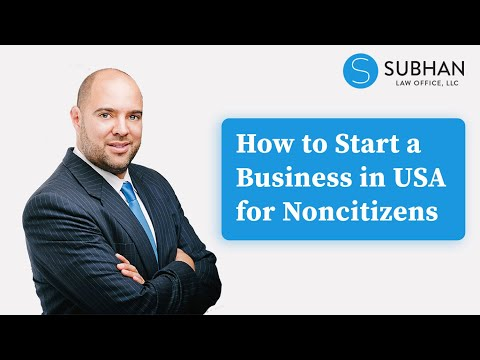 How To Start A Business In USA For Foreigners