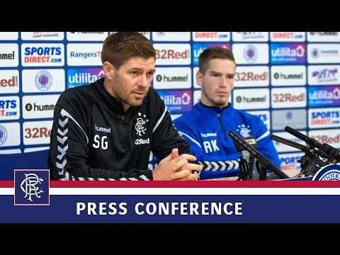 PRESS CONFERENCE | Steven Gerrard & Ryan Kent | 26 Feb 2019