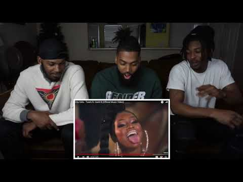 City Girls - Twerk ft. Cardi B [REACTION]