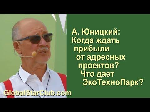 SkyWay - А. Э. Юницкий: Когда ждать прибыли от адресных проектов?