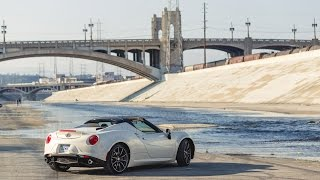 Alfa Romeo 4C Spider 2015 Videos