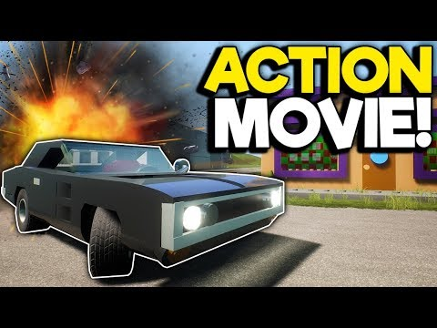 Lego Action Movie Ends in Youtubers Being Exposed! - Brick Rigs Roleplay Multiplayer |