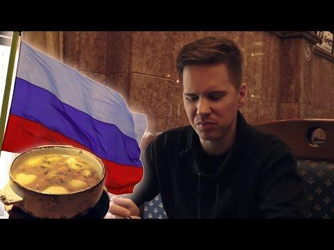 Taste Testing Russian Food [Kult America]